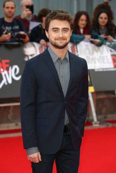 Daniel Radcliffe arrives for the Empire Live: 'Swiss Army Man' & 'Imperium' double bill gala screening.