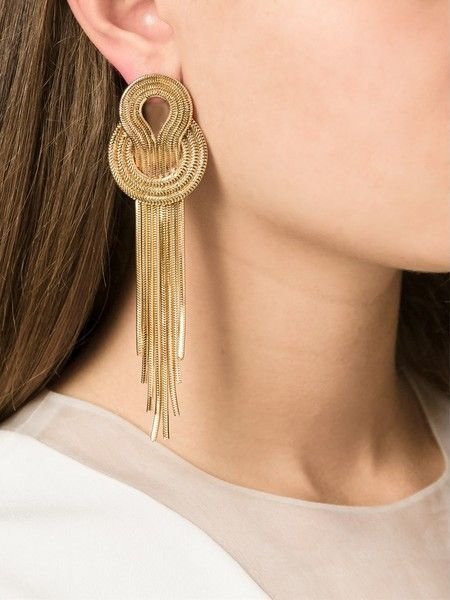 Lara Bohinc Saturn Earrings - Unique and Beautiful Statement Earrings for Your Wedding Day - Photos