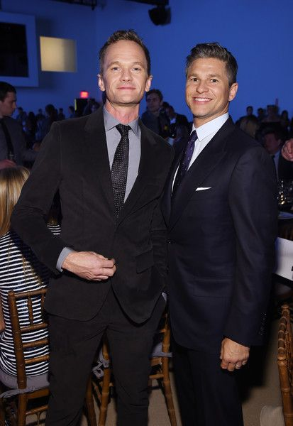 David Burtka and Neil Patrick Harris attend the God's Love We Deliver Golden Heart Awards in NYC.