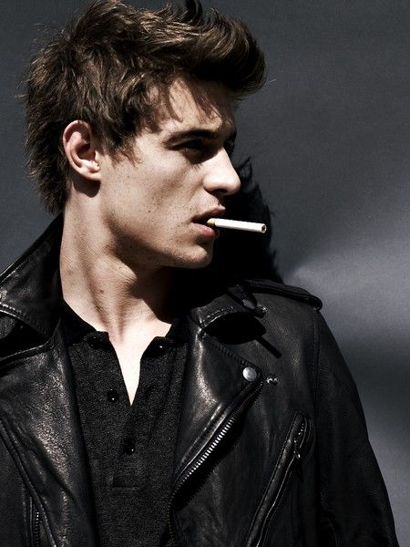 Hot guy smoking gif
