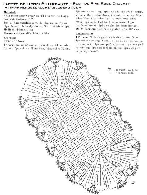 Вязание крючком салфетки коврики схемы 30