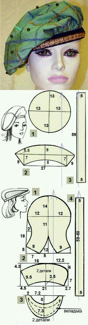 Как сшить беретку