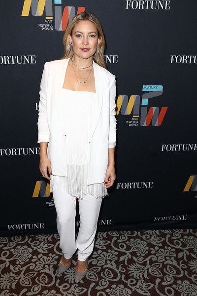 Kate Hudson attends Fortune's Most Powerful Women Summit 2016 at Ritz-Carlton Laguna Niguel.
