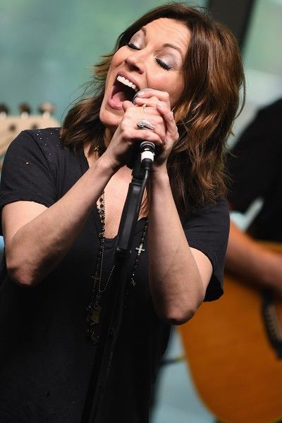 Recording Artist Martina McBride performs at SiriusXM's Music City Theatre on April 28, 2016 in Nashville, Tennesse