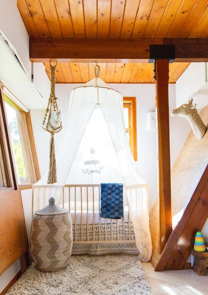 Oh Baby - This Hollywood Hills A-Frame Home Is Magical - Photos