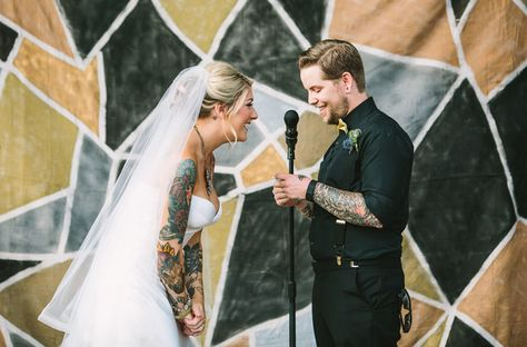 Colorful Sleeves - Gorgeous Brides Flaunting Gorgeous Tattoos - Photos
