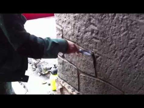 Имитация камней своими руками 981