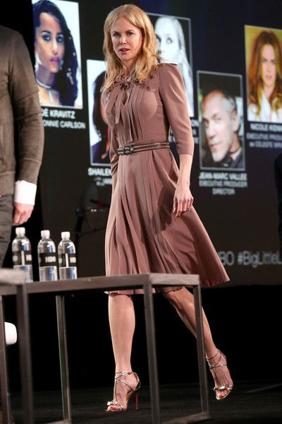 Executive producer/actress Nicole Kidman of the series 'Big Little Lies' speaks onstage during the HBO portion of the 2017 Winter Television Critics Association Press Tour.