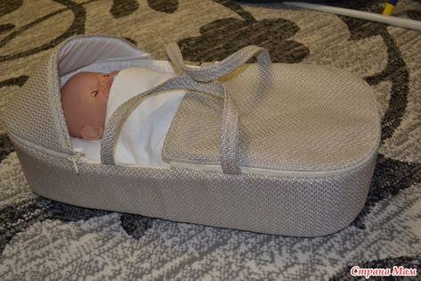 Для новорожденного своими руками переноска 32
