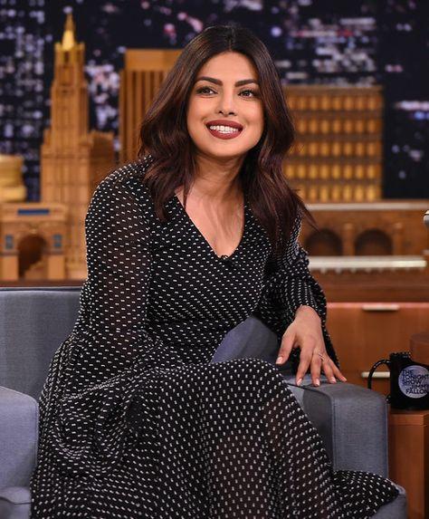 Priyanka Chopra visits 'The Tonight Show Starring Jimmy Fallon.'