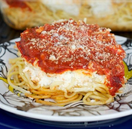 Cheesy Creamy Spaghetti Casserole - Quick Dinner Ideas for Nights When You Just Can't - Photos
