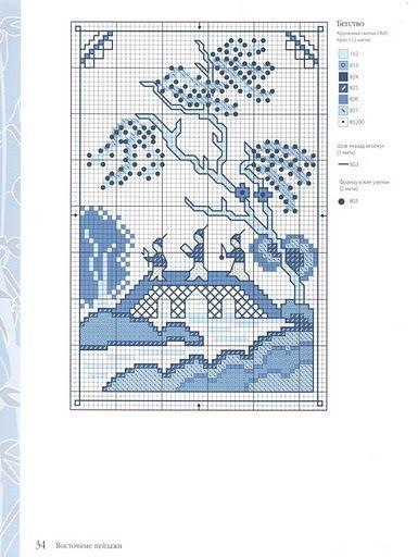 Схемы вышивки крестом лесли тиэри 26