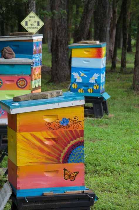 Beehive painting ideas