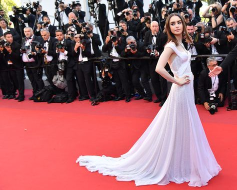 Lily Collins - The Most Daring Gowns From the 2017 Cannes Film Festival - Photos