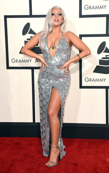 The Only Grammy Dresses You Need to Remember   Lady Gaga, 2015 Grammy Awards