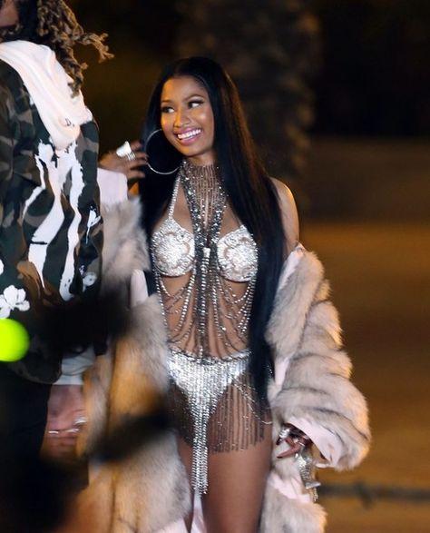 Nicki Minaj filming new video in Miami Beach, Florida on February 27, 2017.***NO FRANCE, NO GERMANY, NO LATIN AMERICA, NO SPAIN, NO PORTUGAL, NO NETHERLANDS***