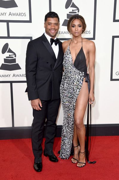 Ciara & Russell Wilson, 2016 - The Cutest Couples At The Grammy Awards Over The Past Decade  - Photos