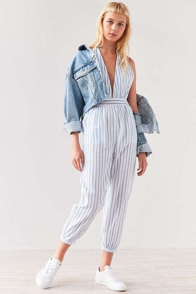 Add Denim - Easy Ways to Jazz Up Your Jumpsuits - Photos