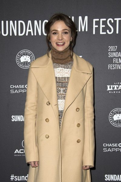 Actress Carey Mulligan attends the 'Mudbound' Premiere at Eccles Center Theatre during the 2017 Sundance Film Festival.
