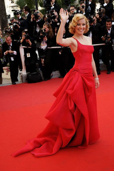 Elizabeth Banks in Statement Red, 2009 - The Most Daring Dresses on the Cannes Red Carpet - Photos