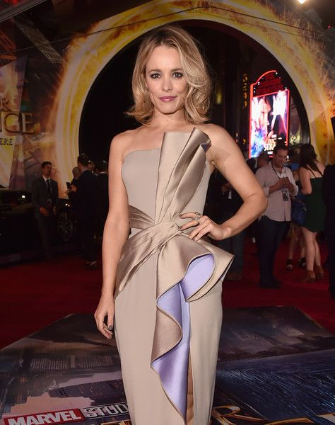 """Actress Rachel McAdams attends the Los Angeles World Premiere of Marvel Studios'' 'Doctor Strange""""' in Hollywood."""