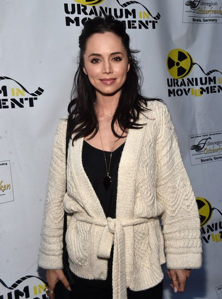 Actress Eliza Dushku attends the Atomic Age Cinema Fest Premiere of 'The Man Who Saved The World.'