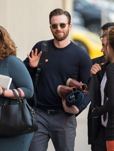 Chris Evans visits 'Jimmy Kimmel.'