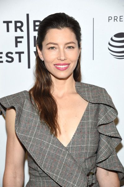 Executive producer and cast member Jessica Biel attends 'The Sinner' Premiere during the 2017 Tribeca Film Festival.