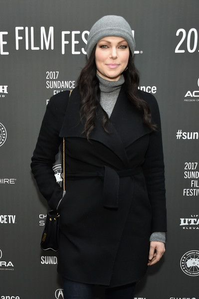 Actress Laura Prepon attends 'The Hero' premiere on day 3 of the 2017 Sundance Film Festival.