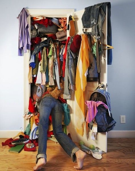 Clean out your closets for the New Year - Holiday Traditions to Start with Your Own Family  - Photos