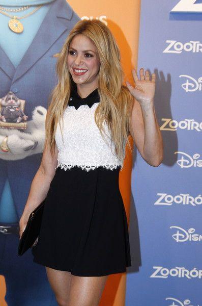 Shakira at the 'Zootropolis' Premiere