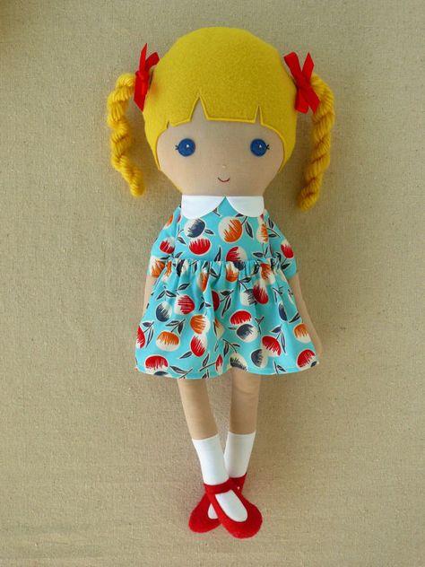 Как сделать простую куклу