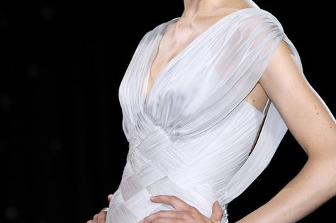 Elie Saab Couture Details, Fall 2007 - Elie Saab's Most Beautiful Runway Details of the Decade - Photos