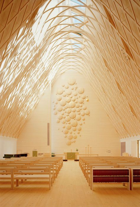 Kuokkala Church by Lassila Hirvilammi Architects