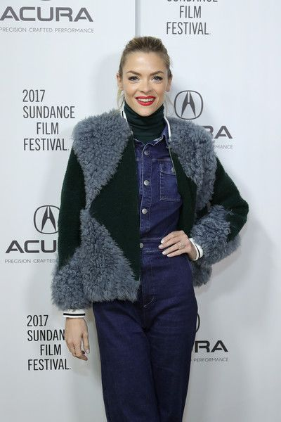 Actress Jamie King of 'Bitch' attends the Acura Studio during Sundance Film Festival.