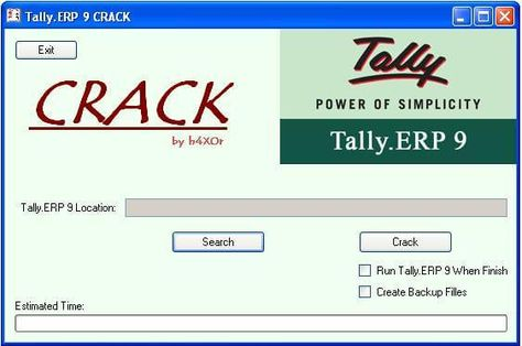Tally ERP 9 Release 64 Crack Plus Activator Full Download
