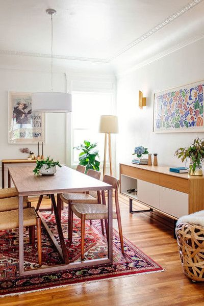 An Artful Bay Area Dining Room - 10 Ideas To Steal From Homepolish's Instagram - Photos