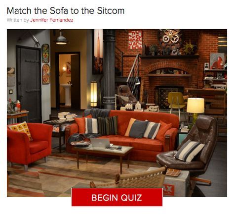 TV Trivia: Can You Match the Sofa to the Sitcom?