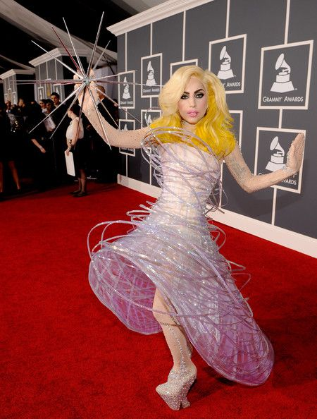 The Only Grammy Dresses You Need to Remember   Lady Gaga, 2010 Grammy Awards