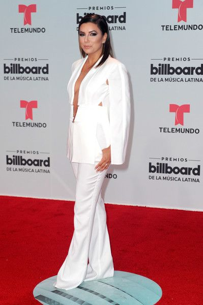 Eva Longoria attends the Billboard Latin Music Awards.