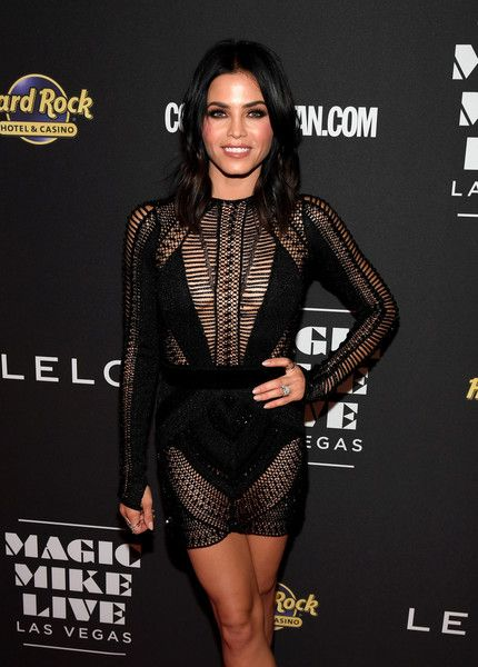 Actress Jenna Dewan-Tatum attends the grand opening of 'Magic Mike Live Las Vegas.'