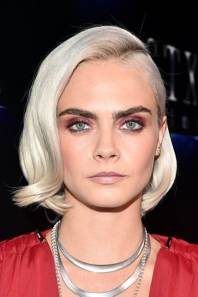 Actor Cara Delevingne attends CinemaCon 2017 the State of the Industry: Past, Present and Future.