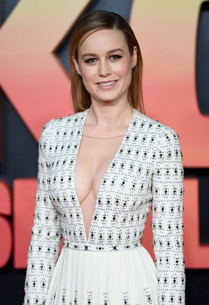 Brie Larson attends the European premiere of 'Kong: Skull Island.'
