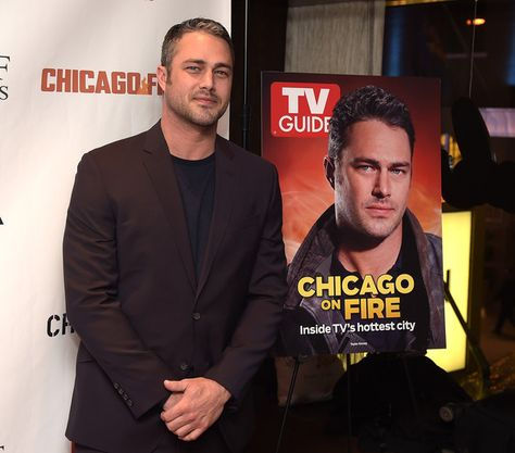 Taylor Kinney attends the TV Guide Magazine Celebrates Dick Wolf's Chicago Series at LeGrande Lounge at The Time New York Hotel on February 8, 2016 in New York City.