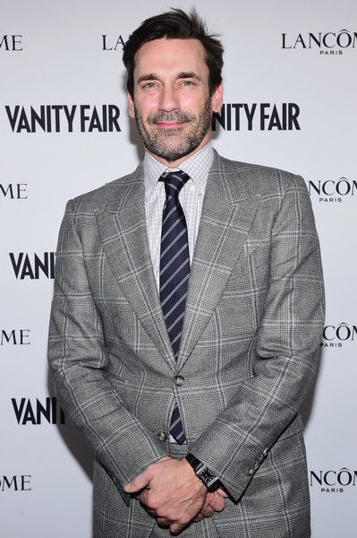 Actor Jon Hamm attends Vanity Fair and Lancome Toast to The Hollywood Issue at Chateau Marmont on February 23, 2017 in Los Angeles, California.