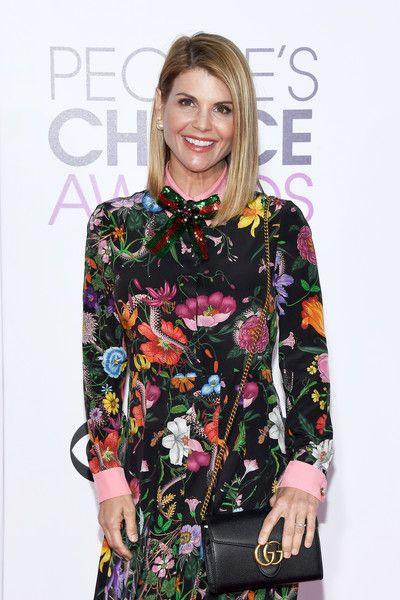 Actress Lori Loughlin attends the People's Choice Awards 2017.