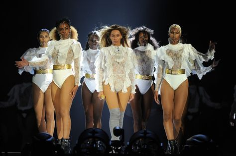In this handout photo provided by Parkwood Entertainment, Beyonce performs during the opening night of the Formation World Tour at Marlins Park on April 27, 2016 in Miami, Florida.