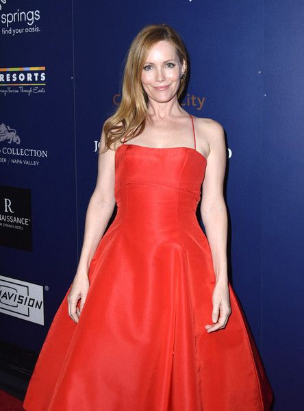 Actress Leslie Mann attends the Closing Night Screening of 'The Comedian' at the 28th Annual Palm Springs International Film Festival.