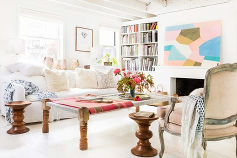 Light And Bright - 16 Cozy Living Rooms We Want To Live In - Photos