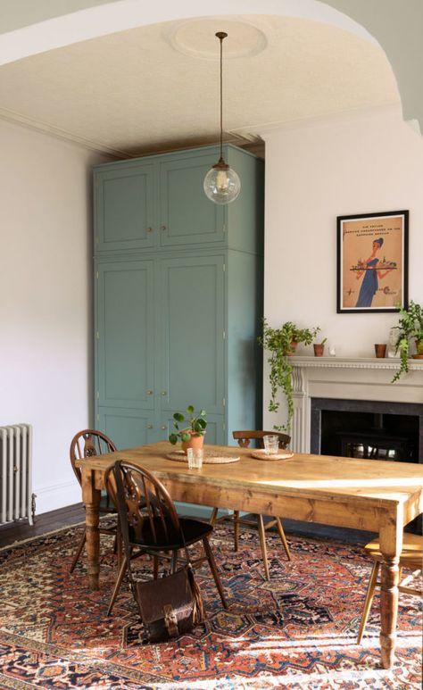 an edwardian english kitchen